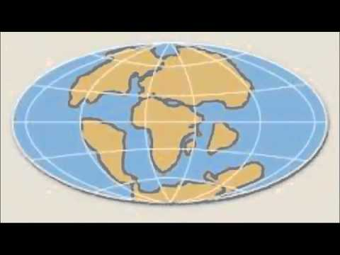 La Deriva Continental teoria de (Alfred Wegener)