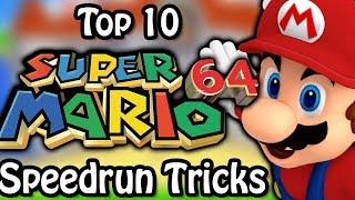 Top 10 Super Mario 64 Speedrun Tricks (Ft. SimpleFlips)