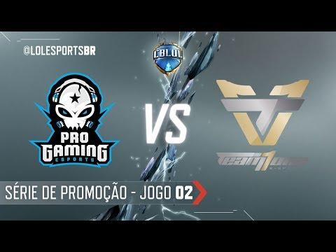 CBLoL 2018: ProGaming x Team One (Jogo 2) | Série de Promoção - 1ª Etapa