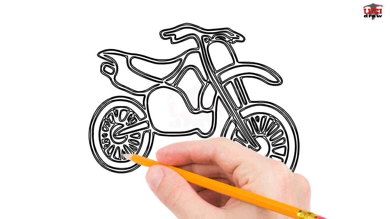 It's just a photo of Simplicity Bike Drawing Simple