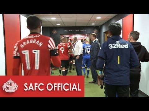 Behind The Scenes: SAFC v Leeds