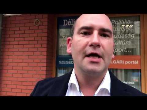 Tóth Péter szegedi Jobbikos képviselő megsértődött, ezért grafitizett egyett,