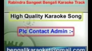 Aaj Jyotsna Raate Sobai Geche Bone Karaoke Rabindra Sangeet