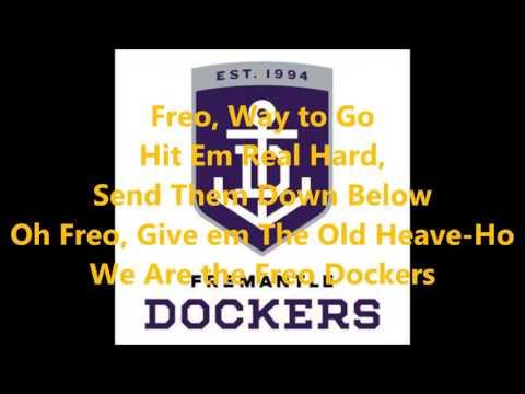 Fremantle Dockers theme song (Lyrics) AFL Sing-A-Long