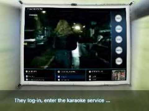 Asus IPservices 'karaOK' , asusdesign 2005