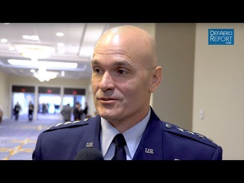 USAF's Everhart on AMC's Combat Role, Aging Jets & Readiness
