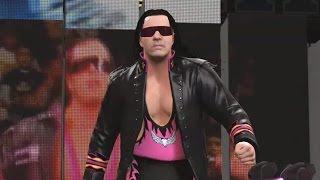 WWE 2K16 Bret Hart Entrance & Wrestlemania XIX Arena (Full Entrance)