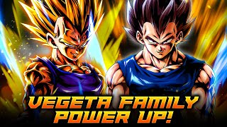 HIS GREATEST ALLY IS... HIMSELF?! VEGETA GIVES VEGETA TONS OF POWER! | Dragon Ball Legends PvP