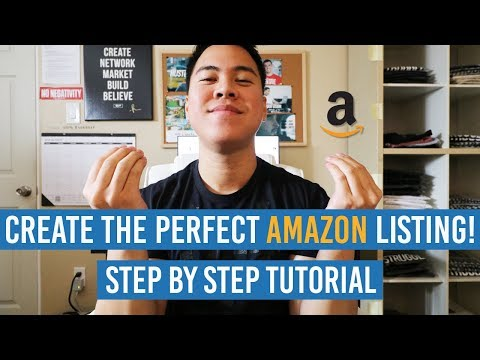 How To CREATE The PERFECT Amazon Product Listing That SELLS! FULL Step-By-Step Tutorial!