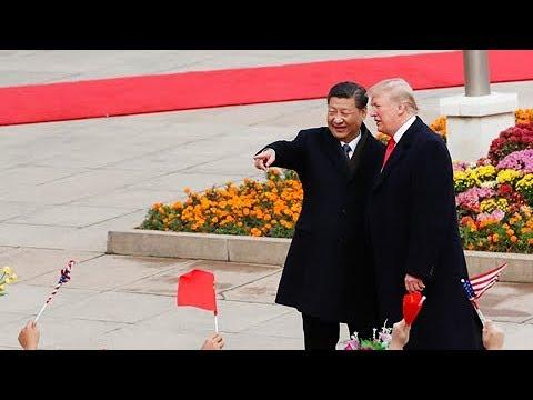 《习近平主席举行仪式欢迎美国总统特朗普访华特别节目》20171109  / Xi holds welcome ceremony for Trump | CCTV