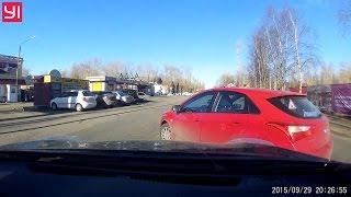 Nissan въехал в красный Hyundai. Северодвинск.