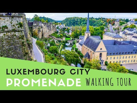 Luxembourg City Promenade Walking Tour
