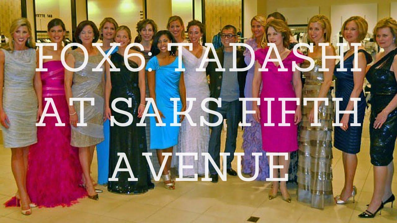 FOX6 Fashion Forecasts: \'Tadashi at Saks Fifth Avenue\' - YouTube