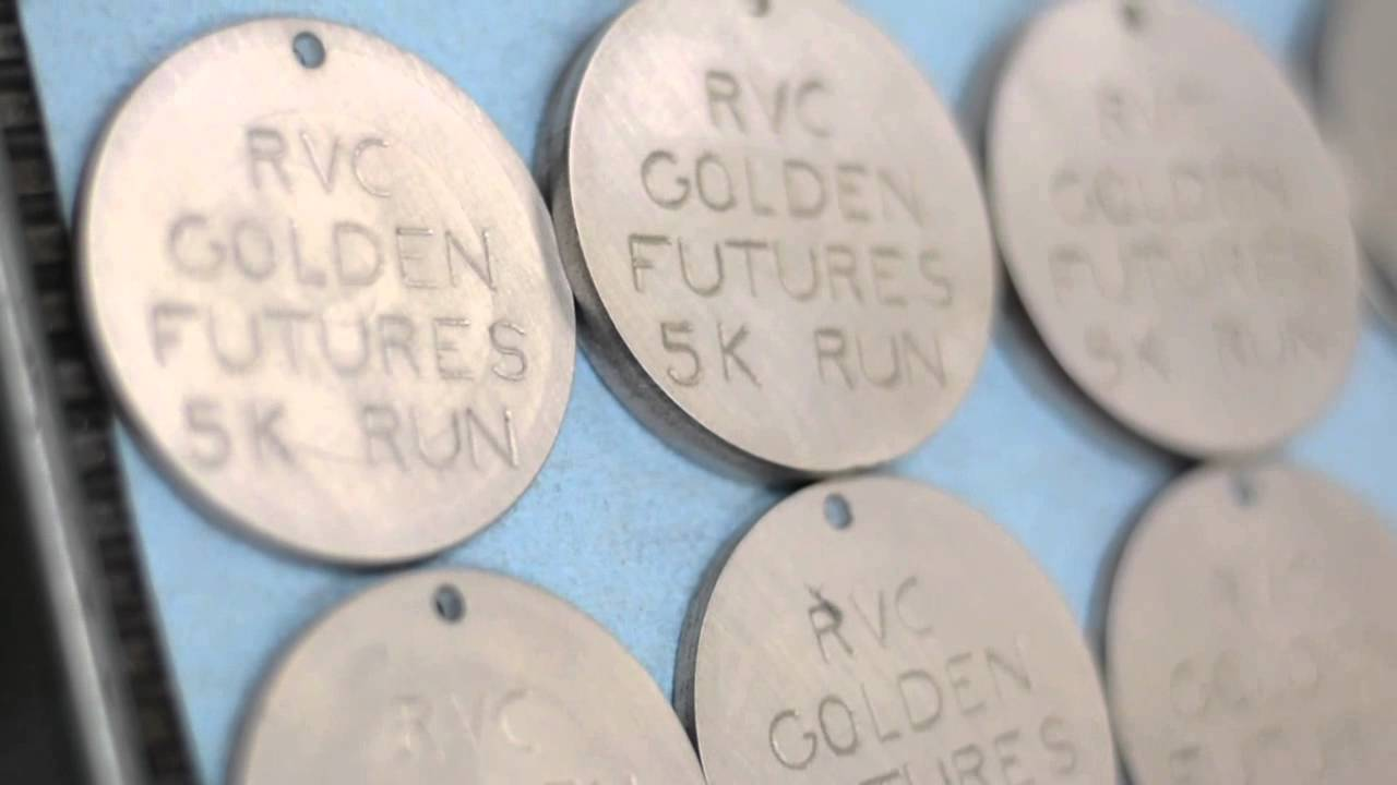 Golden Futures 5K Medal Making!