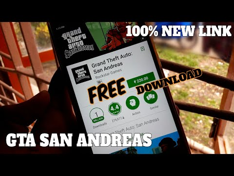 [Hindi] FREE Download GTA SAN ANDREAS In Android || 10000% Works || New Link || Mr.Bhanu ||