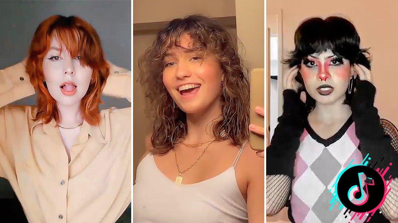 Best Mullet/Shag Hair Transformation    Tiktok Compilation   YouTube