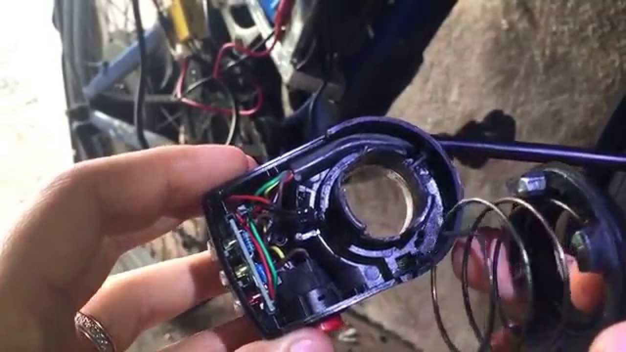 48v electric bike throttle problems fixed  YouTube