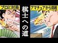 【将棋漫画】プロ棋士を夢見た男の最後の挑戦