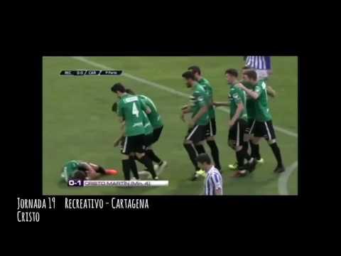 Goles   FC Cartagena Temporada 2016-2017