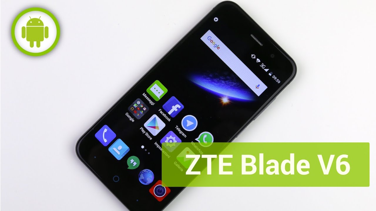 zte blade v6 recensione in italiano youtube. Black Bedroom Furniture Sets. Home Design Ideas