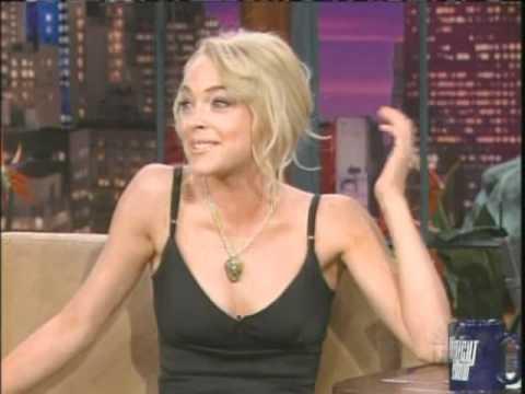 Lindsay Lohan Jay Leno 2005