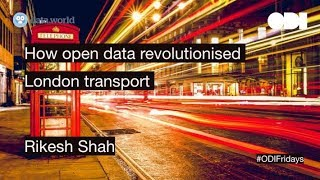 Friday lunchtime lecture: How open data revolutionised London transport