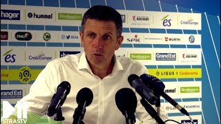 Thierry Laurey rend hommage aux supporters