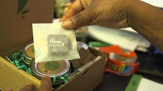 CNET News - Marijuana makeover: Startup aims to make pot deliveries classy