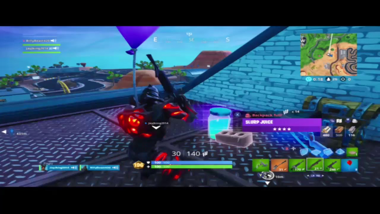 What happens when you eat a red pepper? FORTNITE EASTER EGG!!