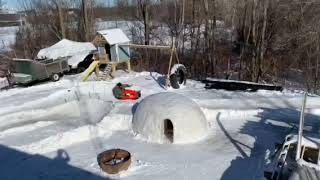 Dad builds luge track in backyard for his kids in Metro Detroit