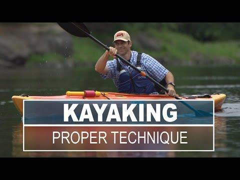 Proper Technique For Paddling Kayak