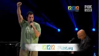 Adam Sandler - Sandy Screw Ya @ 121212 Concert