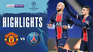 Manchester United 1-3 PSG | Champions League 20/21 Match Highlights