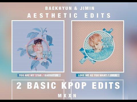how to // kpop edits | 2 basic kpop edit tutorial ♡ odd moon