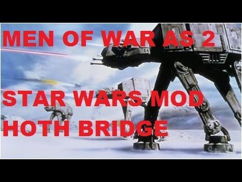 Men Of War: AS 2 - Star Wars Mod ~ Hoth Bridge Skirmish ...