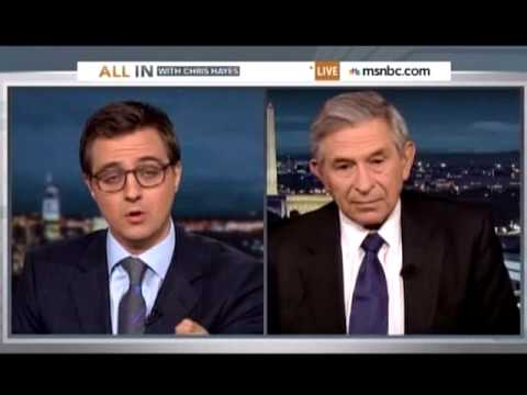Chris Hayes and Paul Wolfowitz, Amazing Interview
