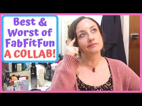 FabFitFun 5 BEST & 5 WORST Products I've Used | Collab With Chip From Moment With Chip | KATE KOSLOV thumbnail