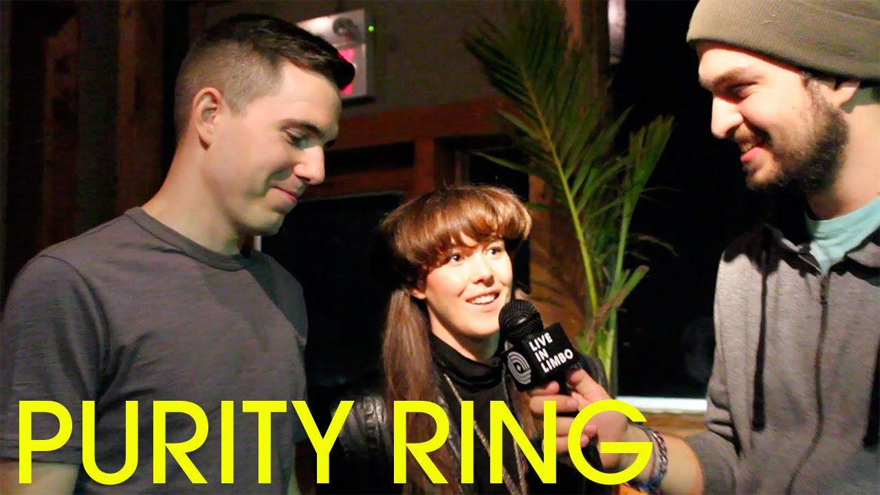 Purity Ring's Megan James And Corin Roddick Talk With Andreas In Toronto -  Full Interview