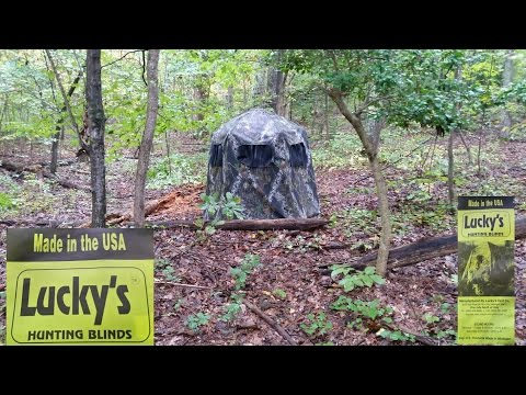 Lucky's Hunting Blinds 2 Man Gun Blind Made In USA  Review By KVUSMC