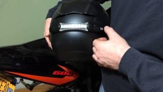 Wireless Helmet Brake Light