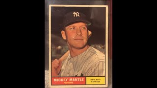 Top 20 Baseball Cards from 1960-63 Topps from the Vintage Lot!