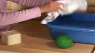 Biowashball - la sfera che pulisce