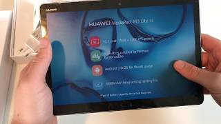 Huawei MediaPad M3 Lite Unboxing and Hands on