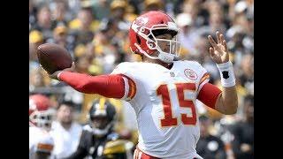 Patrick Mahomes AMAZING 6 TOUCHDOWNS Passes l Steelers vs. Chiefs l NFL