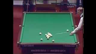 Меховов - Сагынбаев, финал ЧМ 2009, русский бильярд