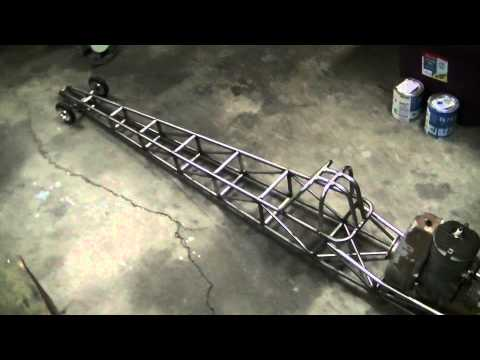 Radio Control 1/4 Quarter Scale Dragster Build, How to, DIY