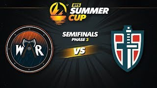 Wind and Rain vs Espada Game 1 - BTS Summer Cup Phase 3: Semifinals