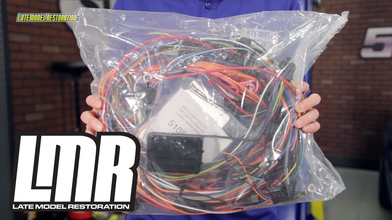 mustang american autowire classic update wiring kit 87 89 mustang american autowire classic update wiring kit 87 89