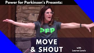 Election-themed (non-partisan) Full Length Parkinson's Move & Shout Exerciseclass