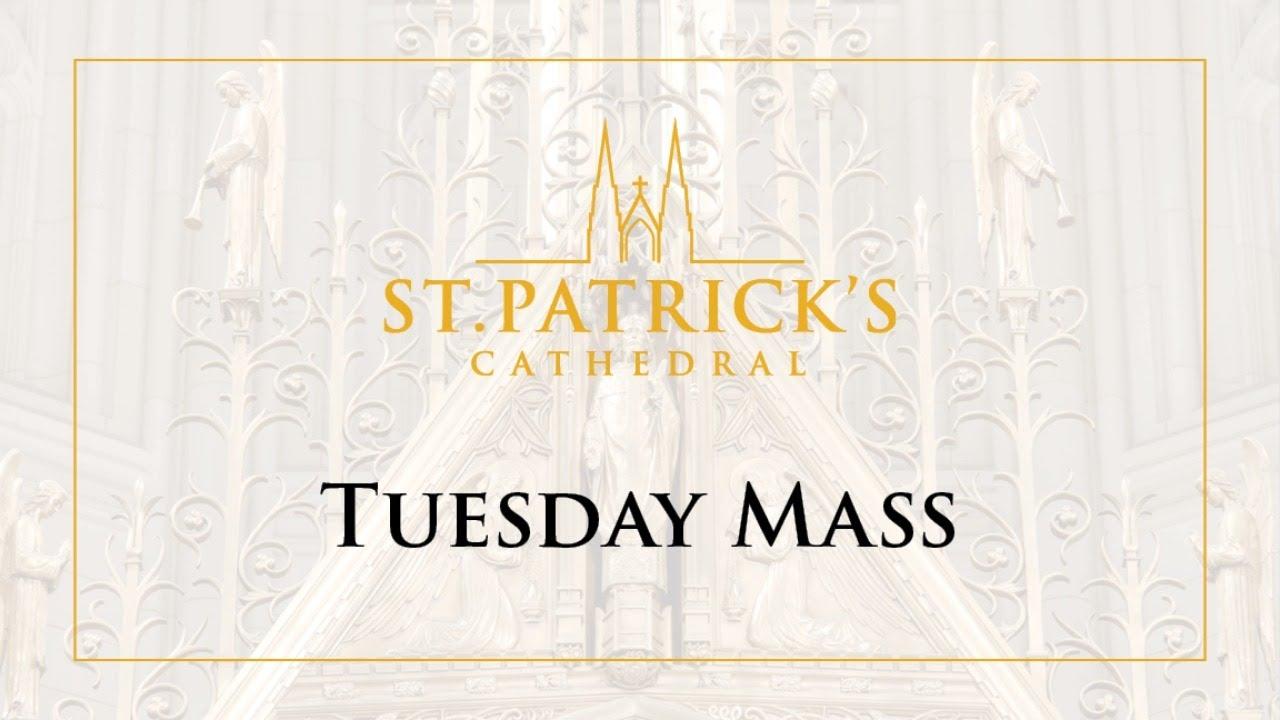 Tuesday Mass - June 30th 2020